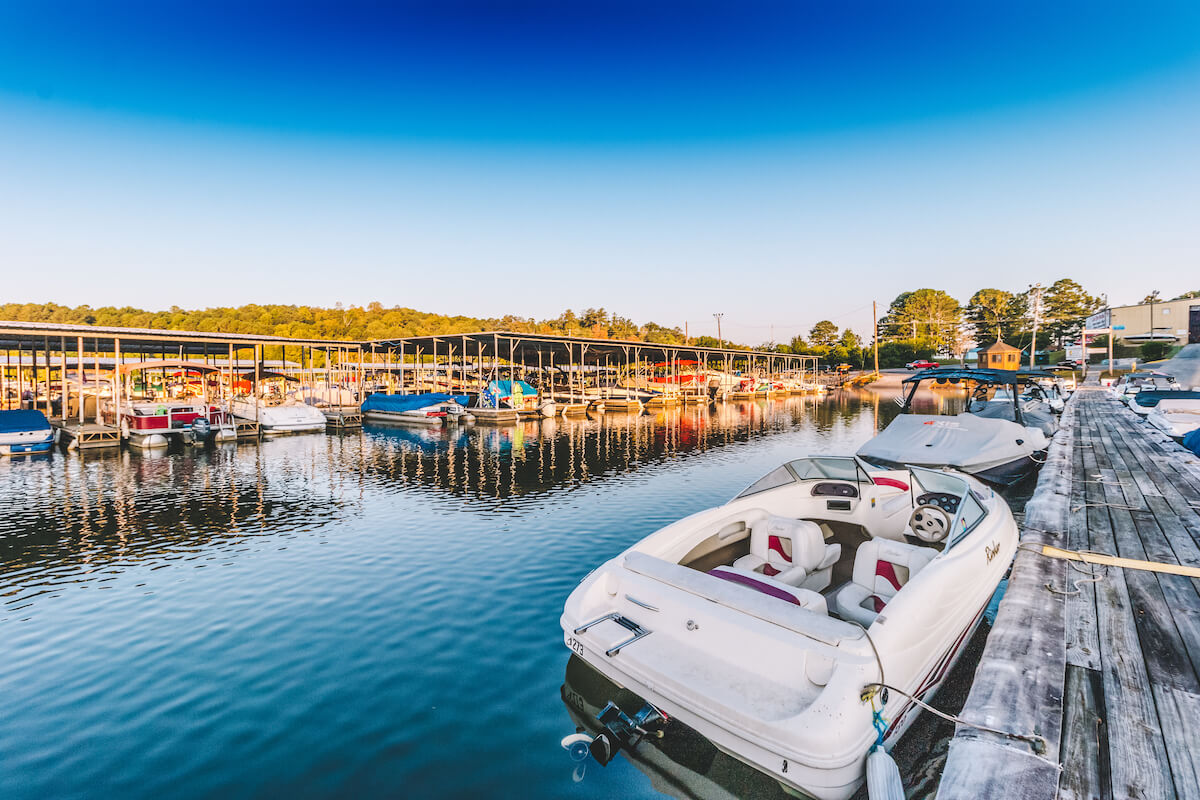 Boat Storage & Boat Slips at Little River Marina